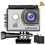 DBPOWER EX5000 Originale Versione WiFi 14MP FHD Sport Action Camera Impermeabile con 2 batterie e...
