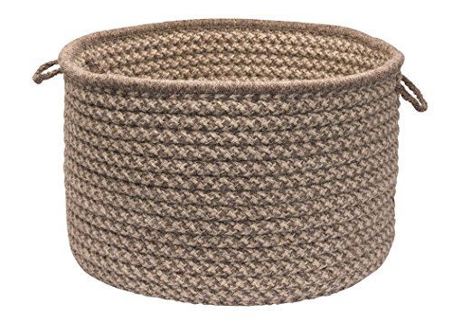 Wool baskets to get organized wool 7th anniversary gifts