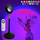 【15 Colors and 4 Dynamic Modes】The sunset lamp projector build-in RGB led, 15 kinds of light effect and 4 dynamic modes(Jump/Strobe/Gradient/Smooth Effect) to choose from, provides a comfortable and romantic atmosphere. A great atmosphere lamp create...