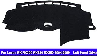 AUCD Car Dashboard Cover Dash Mat for Lexus RX RX300 RX330 RX350 2004-2006 2007 2008 2009 Left Hand Drive Non-Slip Sun Shade Pad Carpet Anti-UV