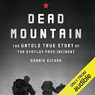 Dead Mountain audiobook cover art