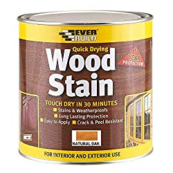Quick Curing Time: Touch dry in 30 minutes, overcoat after 4 hours Suitable for Exterior and Interior Wood: Doors, window frames, architectural timber, conservatories, cladding and garden furniture Coverage: Up to 20 sq m per litre Weatherproof and U...