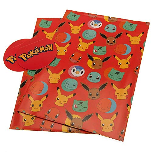 Pokemon Gift Wrap Official Merchandise