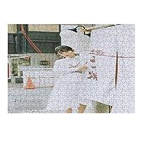 阪口珠美 300ピース ポスター 壁飾り 木製 丈夫 大人 パズル 減圧 木製の 積み木 耐久性 高級印刷 無毒 無臭 無害 難易度調整可能 大人用 子供用 キャラクター パズル 萌えグッズ 子供 初心者向け 長40cm*28cm ギフト プレ 300PCS