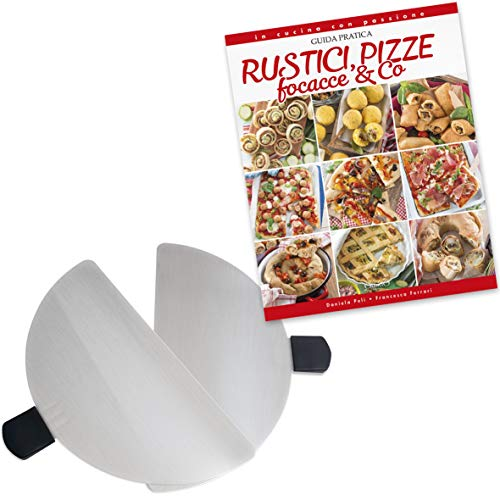 Spice Set Spice - Palette in Acciao Inox per Forni Pizza Spice - G3Ferrari - Optima- Ariete - Melchioni + Ricettario Rustici Pizze e Focacce
