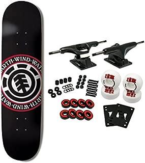 Element Skateboards Complete Skateboard Team Seal Black 8.0