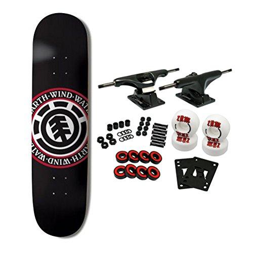 """Element Skateboards Complete Skateboard Team Seal Black 8.0"""""""