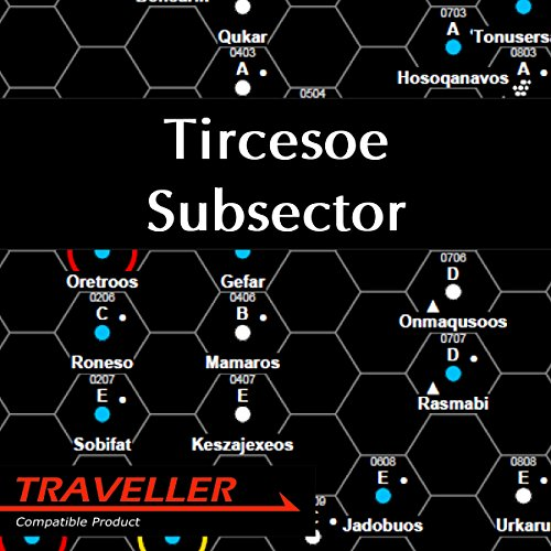Tircesoe Subsector audiobook cover art