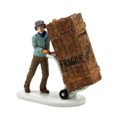 Department 56 A Christmas Story Village Fragile Delivery Accessory Figurine, 2.875 inch
