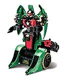 Maisto Twist & Shoot Remote Control Street Trooper Transforming Robot (Green)