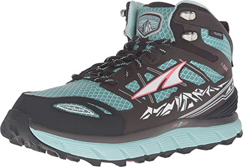 ALTRA Women's Lone Peak 3 Mid Neoshell Trail Running Shoe, Blue - 6.5 M US