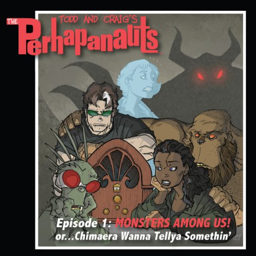 The Perhapanauts audiobook cover art