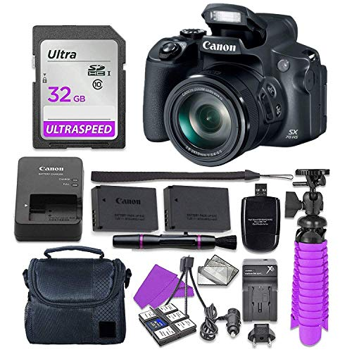 Canon PowerShot SX70 HS 20.3MP 4K Video Digital...