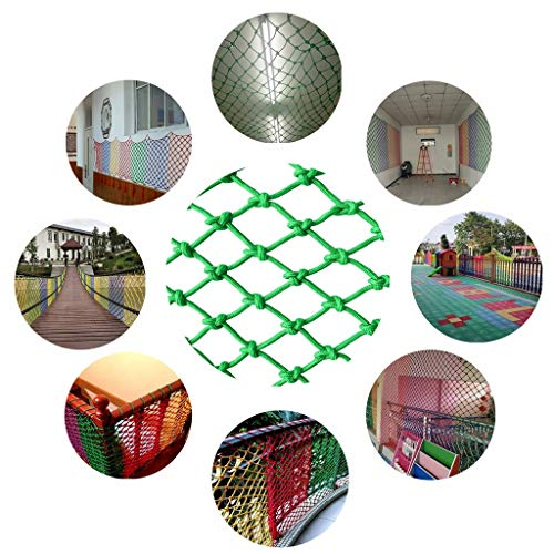 Why Choose WNSW Child Protection Net Safety Net Rope Nylon Cat Net Child Protection Net Stair Balcon...