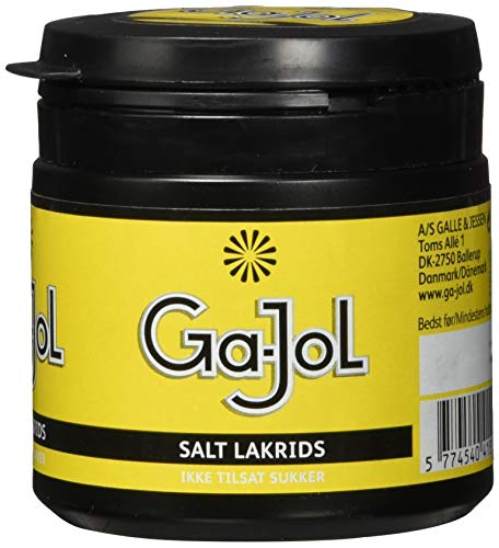 TOMS 415500  Ga-Jol Salzlakritz Dose, 100 g