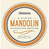 D'Addario EJ80 Octave Mandolin Strings, Medium, 12-46 Phosphor Bronze