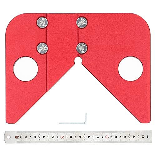 100% nuevo, estable, práctico, duradero, trazador de línea de ángulo de 45 grados, trazador de ángulo de 45 grados, confiable para la regla de trazo