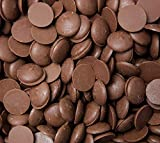CrazyOutlet Merckens Milk Chocolate Coating Melting Wafers Baking Candy, Bulk Bag 5 Lbs