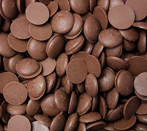 CrazyOutlet Merckens Milk Chocolate Coating Melting Wafers Baking Candy, Bulk Bag 5 Lbs