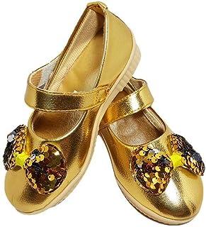 gold colour shoes online