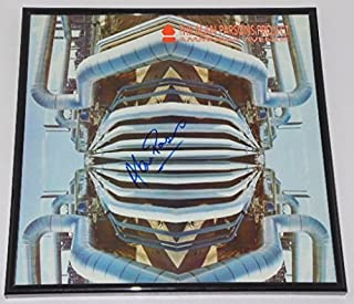 Alan Parsons Project Ammonia Avenue Authentic Signed Autographed Lp Record Album with Vinyl Framed Loa