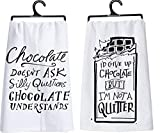 Primitives by Kathy Chocolate Lovers 2 Piece Playful Kitchen Towel Bundle