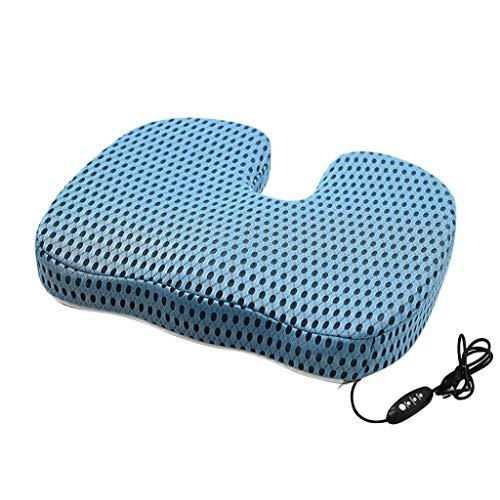 Skxinn Orthopädisches Sitzkissen für Bürostuhl Auto & Schwangerschaft-Sitzkissen Orthopädisch Steißbein-Entlastung - Memory Foam Ergonomisches Sitzkissen wirkt Schmerz Reduzierend Anti-Rutsch