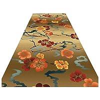 ZEMIN 廊下敷きカーペッ 保護 カーペット 柔らかい 掃除が簡単 耐摩耗性 長寿、 2色、 マルチサイズカスタム (色 : A, サイズ さいず : 0.8x3m)