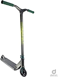 District HTS Pro Scooter - Stunt Scooter - Trick Scooter - Best Expert Level Pro Scooter - for Kids/Teens/Pros Ages 10+ and Heights 5.0ft-6.5ft+ (Pearl Black)