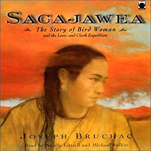 Sacajawea audiobook cover art