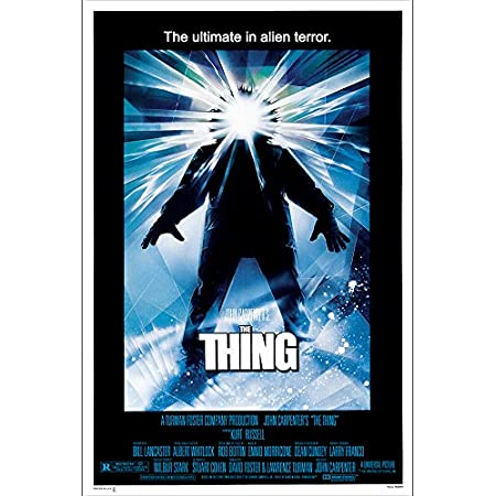 THE THING 1982 • JAPANESE • A4 to A1 POSTER • FREE DELIVERY