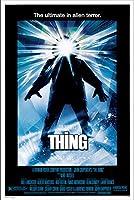 The Thing 映画ポスター (1982) - サイズ 24インチ X 36インチ - これは認定ポスターオフィスプリントで、本物であることを示すホログラフィック連続番号付き。