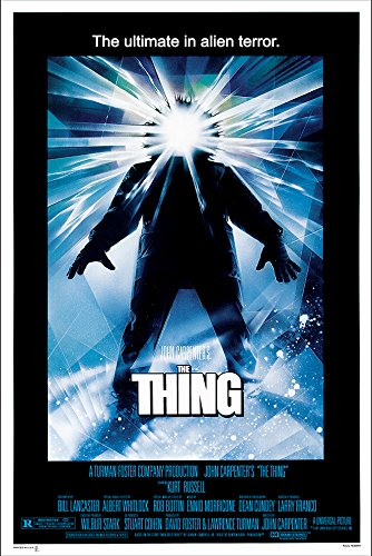 The Thing Movie Poster (1982) - Size 24' X 36' - This is a Certified Poster Office Print with Holographic Sequential Numbering for Authenticity.