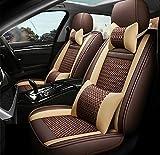 Asiento de coche universal Covers Set completo, funda de cojín de asiento de coche de cuero impermeable para Audi A3 / A4 / A5 / A6 / A8 / P3 / P5 / RS4,B