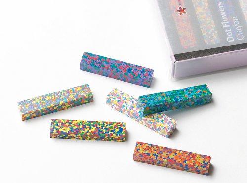 Dot Flowers crayon (japan import)