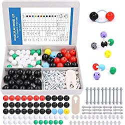top 10 molecular model kits Swpeet 122 Molecular Model Kits for Organic Chemistry for Students and Teachers, Molecular Model Kits for…