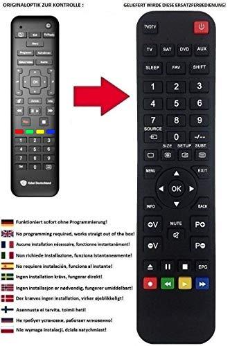 Ersatz Fernbedienung für Kabel Deutschland DCI402HD KD Technicolor Vodafone