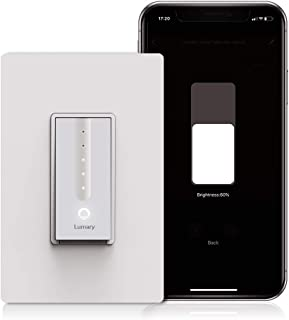 Lumary L-DS100 Dimmer Smart Light Switch with Wifi and Voice Control, Compatible with Alexa, Google Assistant (No Hub required)
