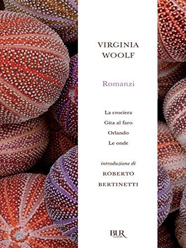 Romanzi: La crociera, Gita al faro, Orlando, Le onde