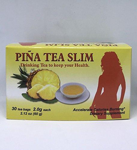 TE DE PINA Tea Slim Slimming fat 30 bags Weight Loss pineapple green tea Dr Ming