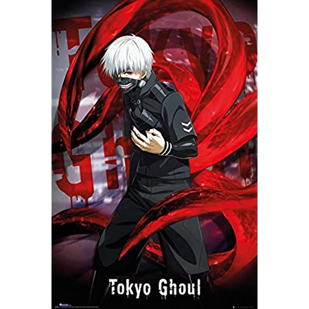 Tokyo Ghoul Poster Parete Decorativo, Non Laminato, 61x91,5