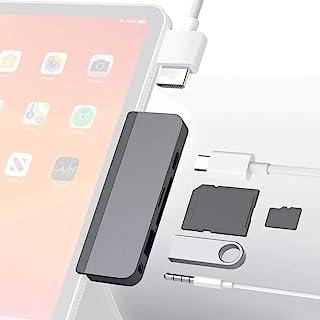 HyperDrive USB C ハブ Type C 6ポートハブ 4K60Hz HDMI出力 PD給電 USB3.0 ウルトラスリム ポート ハイスピード 高速データ転送 MicroSD/SDカードリーダー コンパクト薄型 持ち運びに便利