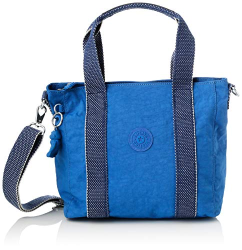 Kipling Damen Asseni Mini Tote Blau (Wave Blue)