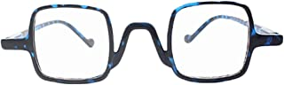 Aiweijia Retro Reading Glasses Unisex ultra light comfortable anti-fatigue Square reading glasses