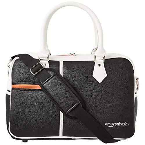 Best Price! AmazonBasics Golf Duffel Bag - Black