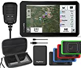 Garmin Tread Powersport GPS with Ride Radio | RideBetter Bundle with Trim Protectors, Protective Case & PlayBetter Power Brick Charger | Offroad ATV Navigator, Waterproof, Bright Display 010-02406-00