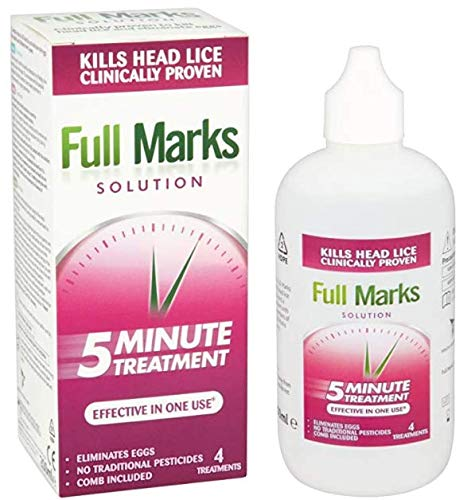 Full Marks Solution, 4 Treatments, 200ml