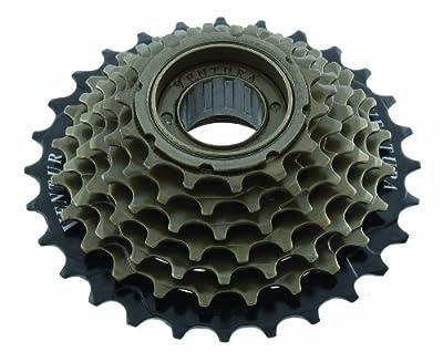 Ventura 5,6, or 7 Speed Freewheel, Black/Brown
