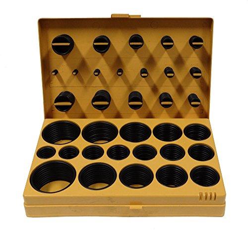 Aerzetix - Sortiment von 400 O-Ring-Dichtungen, Armaturen Sanitär-Gummi