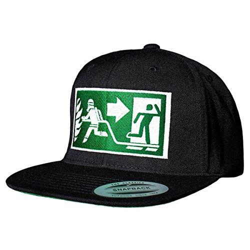 FIRE & FIGHT Streetwear Dein FLUCHTWEG - Mein ARBEITSWEG Snapback Cap